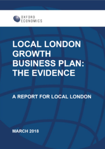 Local London Growth Business Plan Evidence - front cover